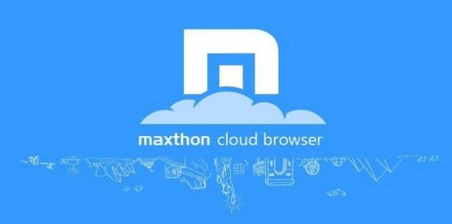 Maxthon, ứng dụng trình duyệt nhanh nhất