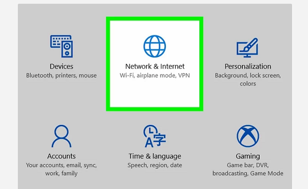 Kiểm tra tốc độ mạng online trên Windows
