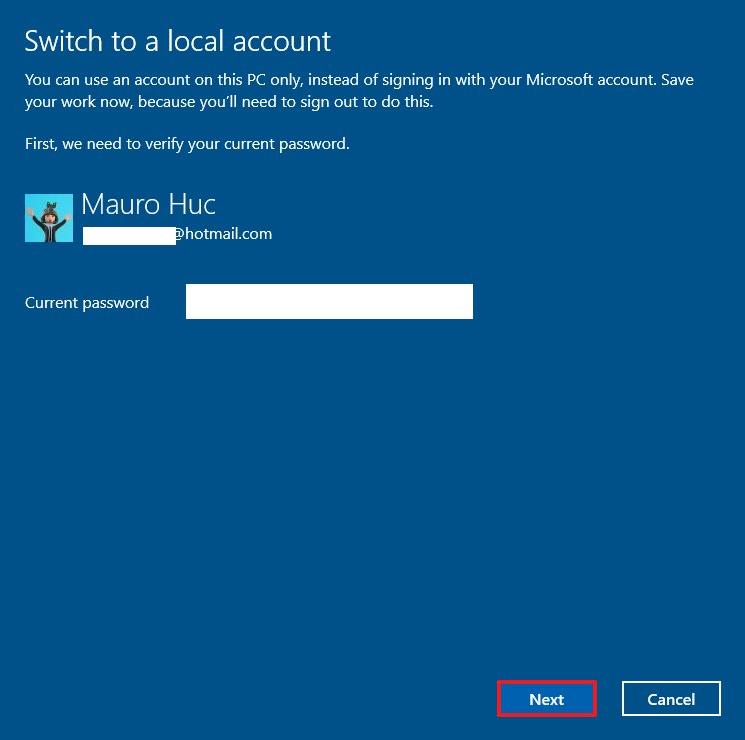 Cách tắt mật khẩu windows 10