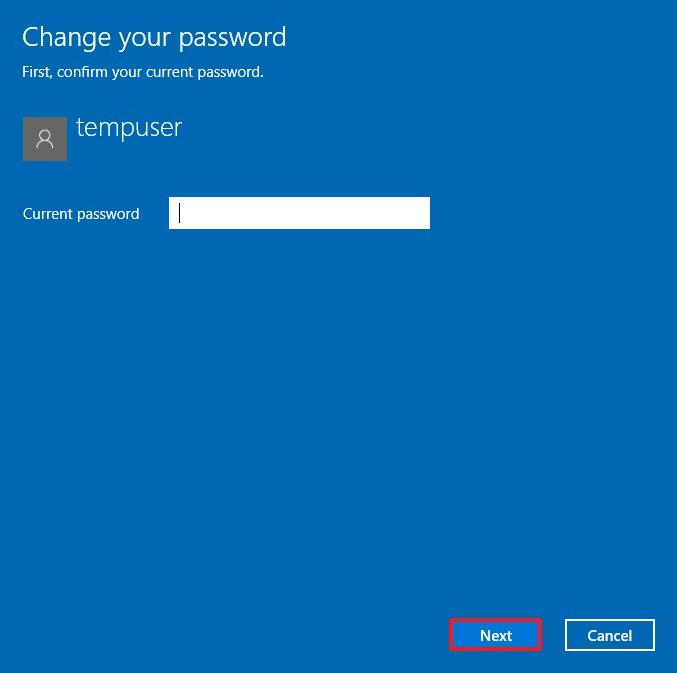 Cách tắt mật khẩu win 10