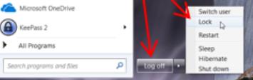 khóa màn hình laptop